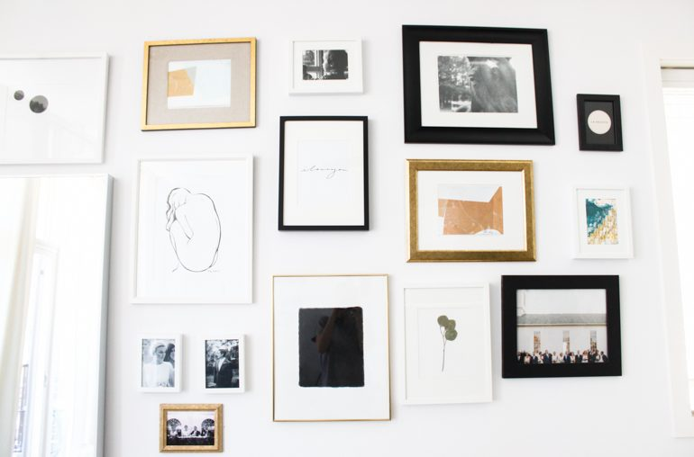 5 things laying around your house that you can frame & call art!