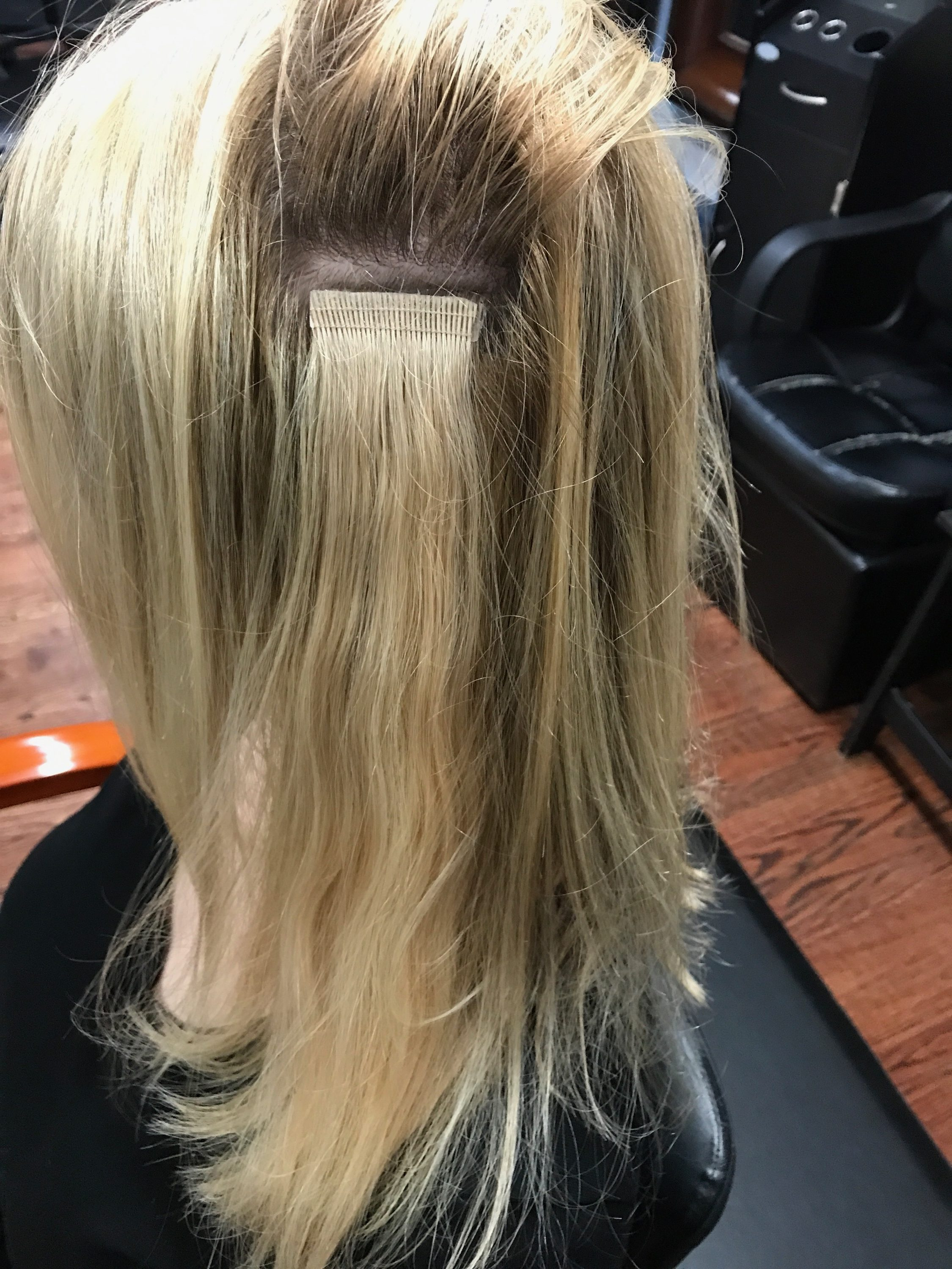 Postpartum hair loss everything you need to know about tape in how long do tape in extensions last pmusecretfo Choice Image