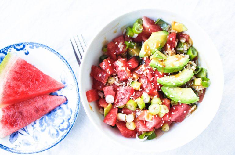 recipe: vegan poke bowls