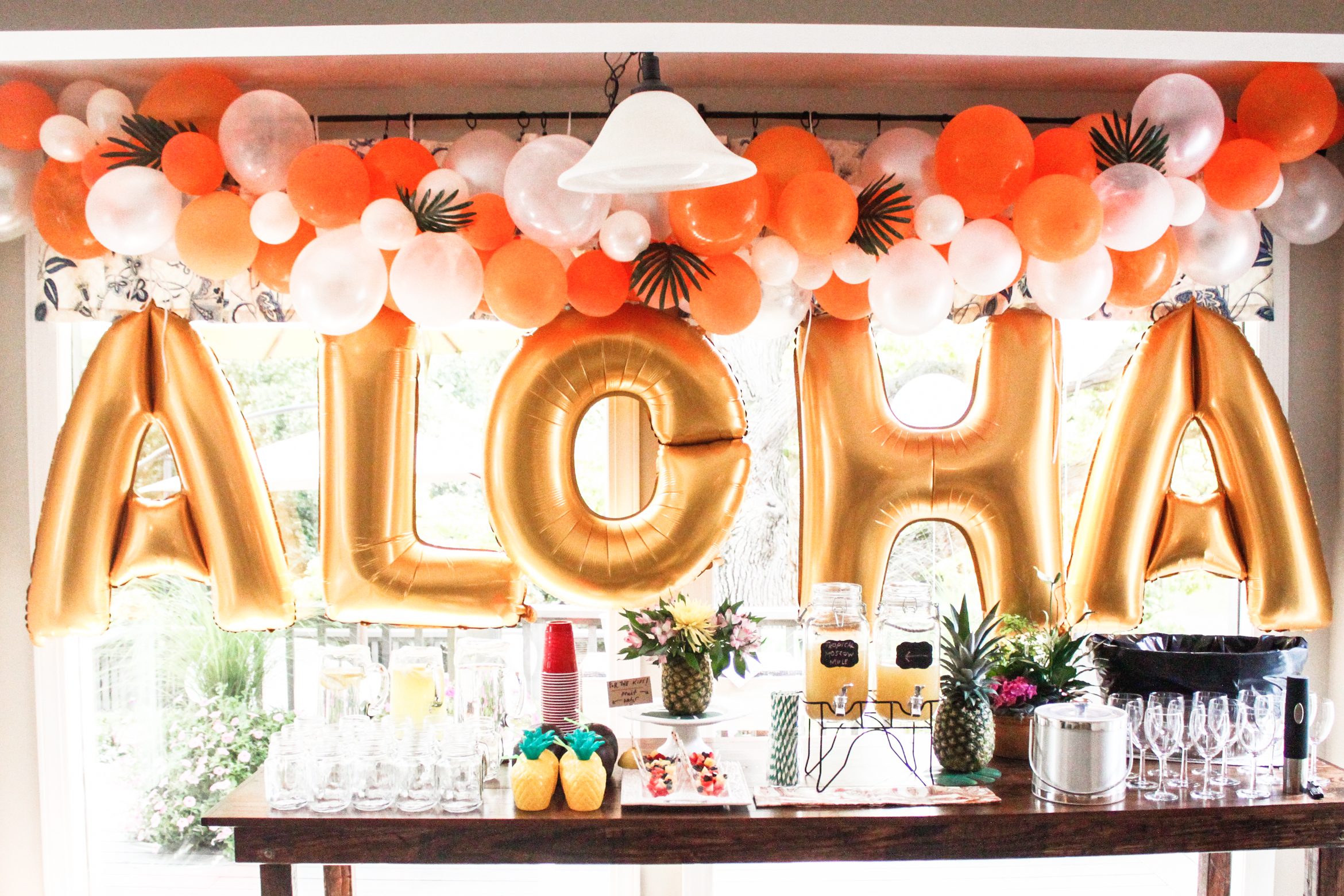 How To Make An Easy Balloon Arch Meg Mcmillin