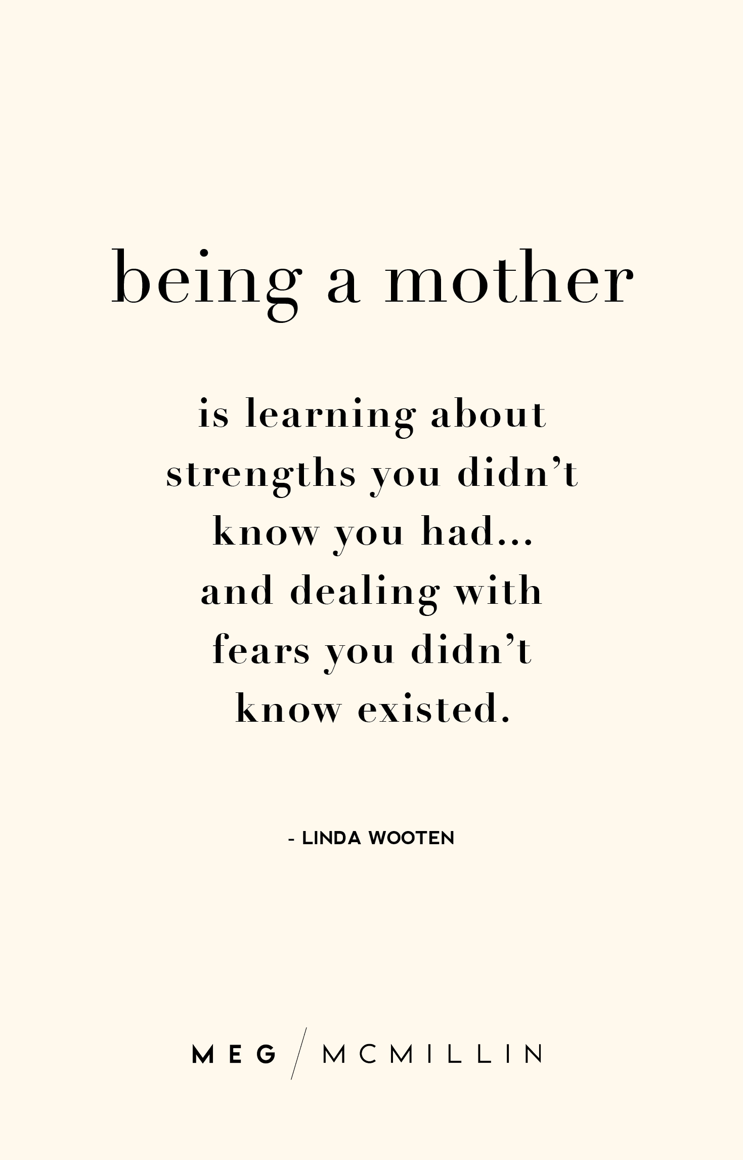 10 inspiring mom quotes to get you through a tough day – Meg McMillin