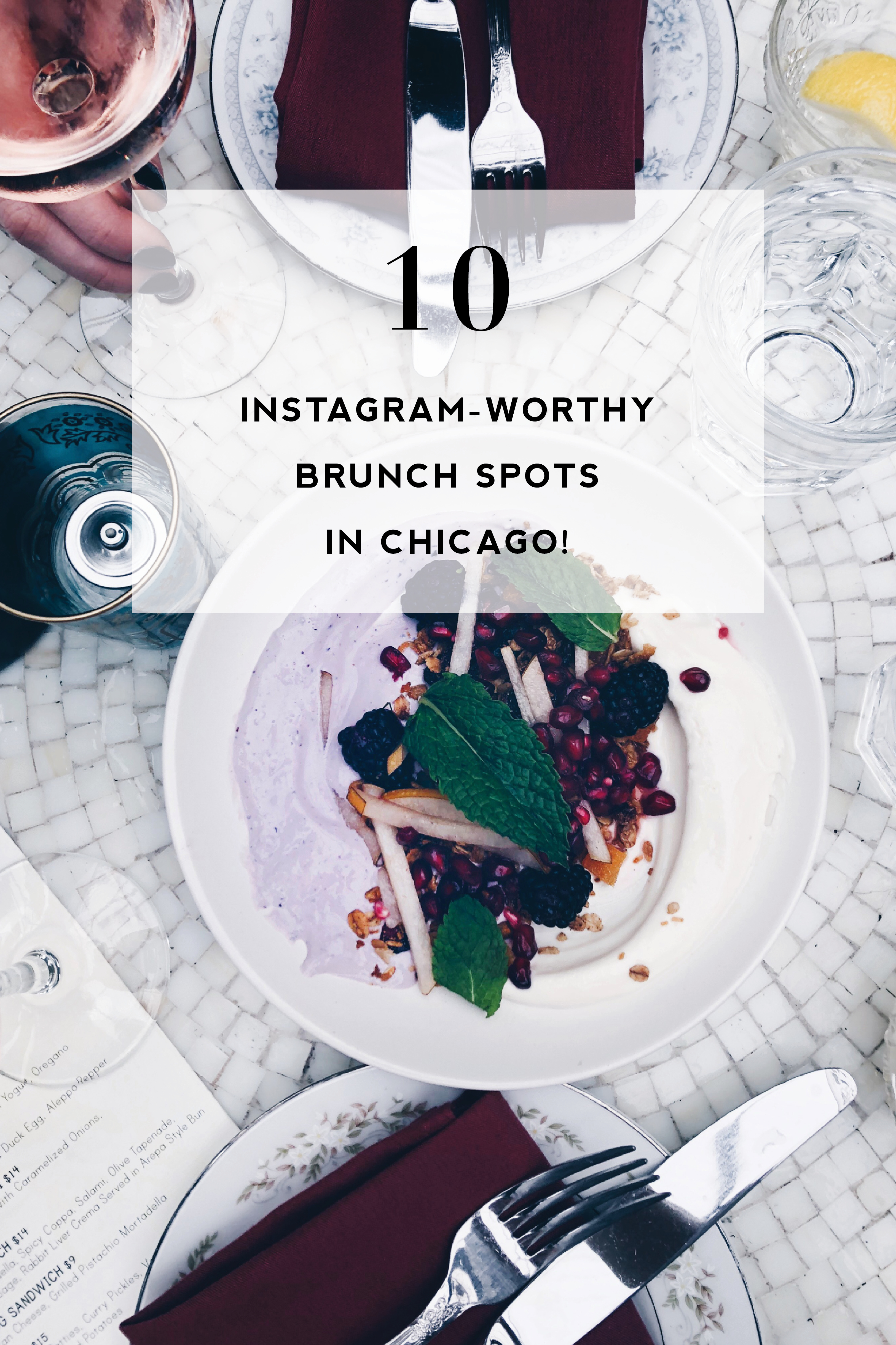 10 of the prettiest + Instagram-worthy brunch places in Chicago ...