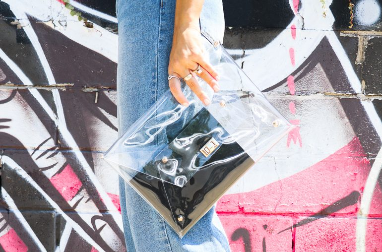 10 clear handbags and how to wear the trend