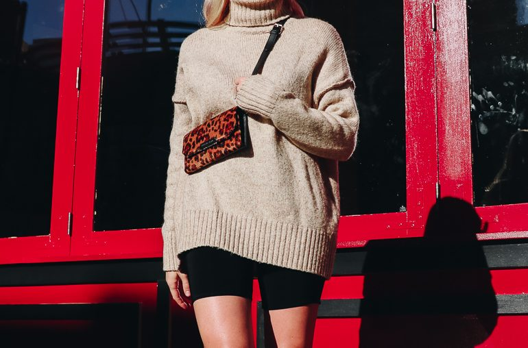 cozy camel sweater round up