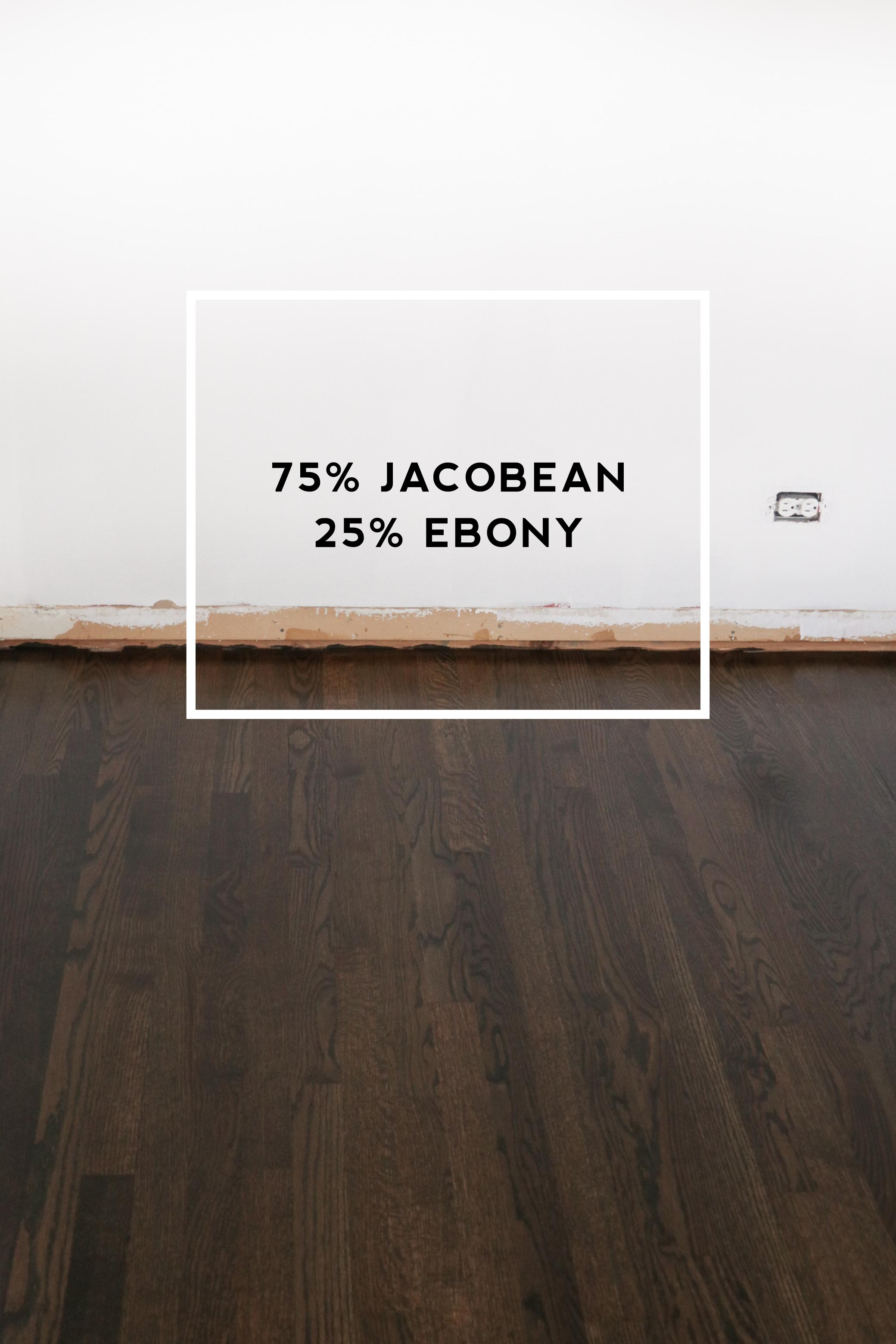 Wood Floor Stain Reveal Meg Mcmillin