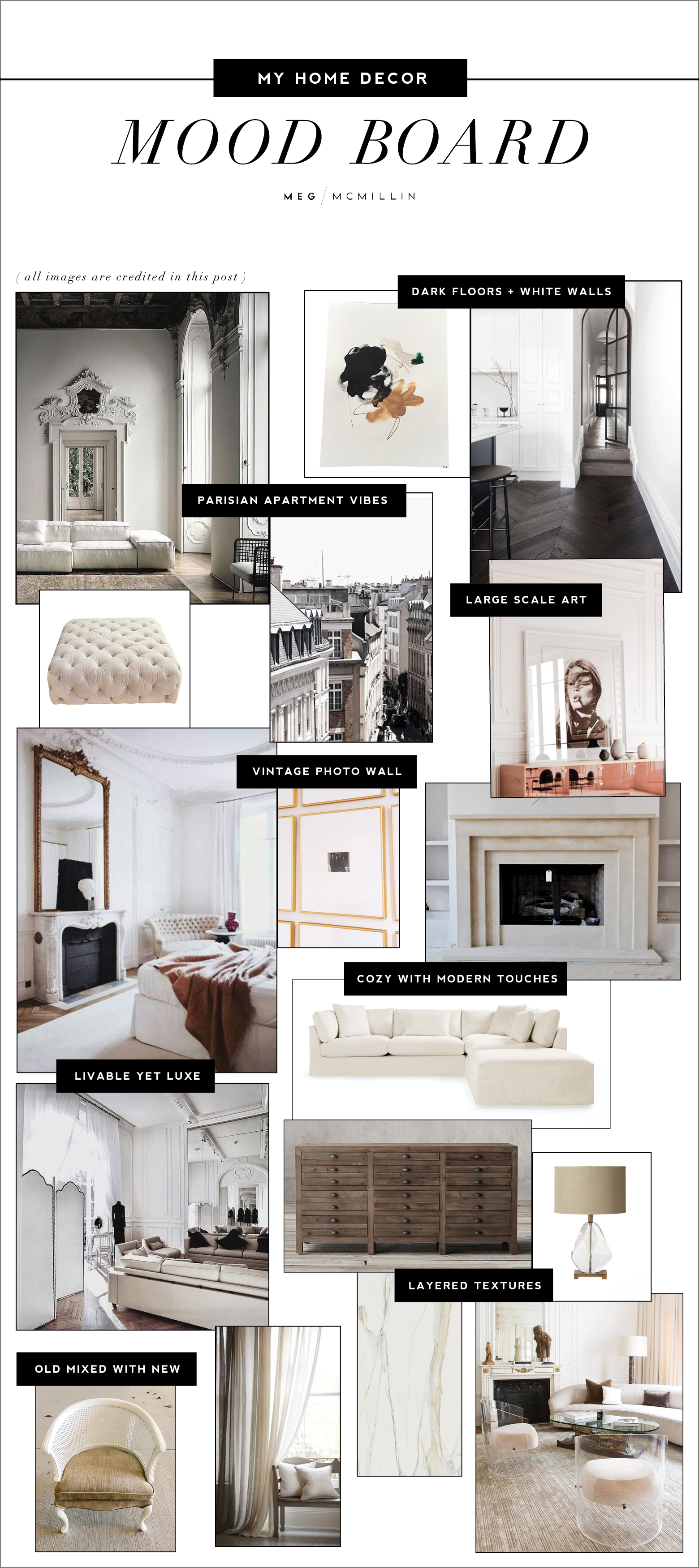 House Update My Home Decor Mood Board Meg Mcmillin