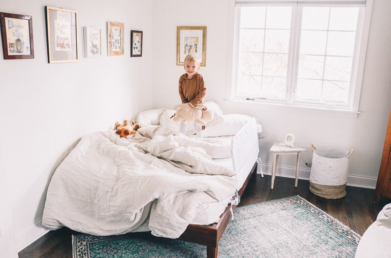 transitioning into a big kid bed: my tips and favorite products!