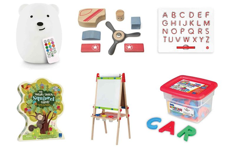 christmas gift guide for (older) toddlers!