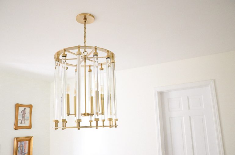 Lighting tour: all of my fixtures from Hudson Valley Lighting Group!