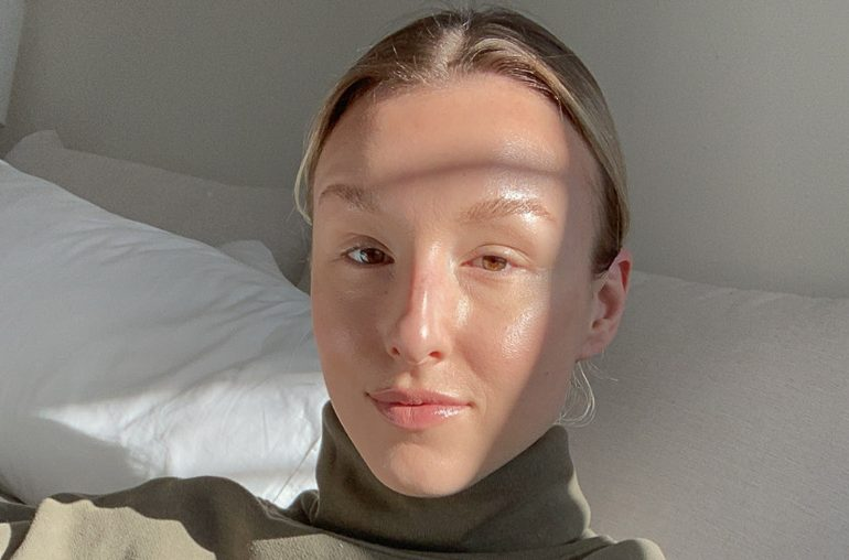 my current + clean skincare routine